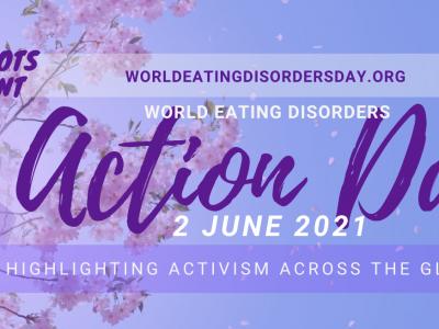 2021年6月2日は、世界摂食障害アクションデイです。